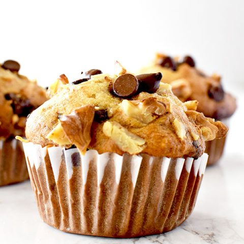 Chocolate Chip Banana Nut Muffins The Taste Of Kosher
