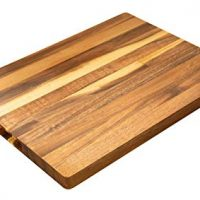Villa Acacia Solid Wood Cutting Board, 17 x 12 Inches