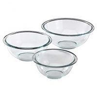 Pyrex Glass Mixing Bowl Set, 3-Piece