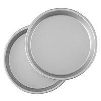 Wilton Aluminum Pan 9-Inch Round Cake Pans, Set of 2